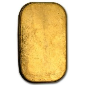 100 gram gold bar-Pamp susisse back side